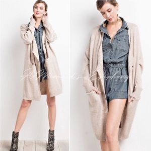 🆕In the Moment Oversized Open Front Cardigan